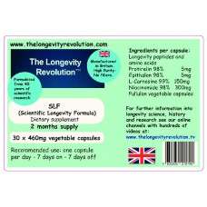 SLF9™  6 mths supply Scientific Longevity Formula™